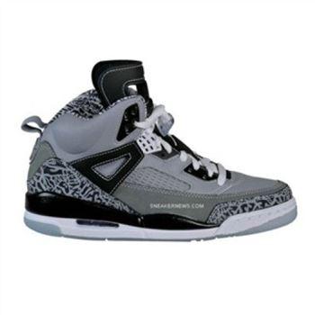 finest selection cc4f4 76a45 315371-091 Air Jordan Spizike Cool Grey Stealth Black Light Graphite White  A23008