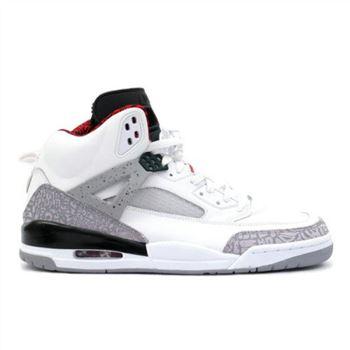 newest eedc1 fae72 315371-101 Air Jordan Spizike OG White Cement Grey Black A23009