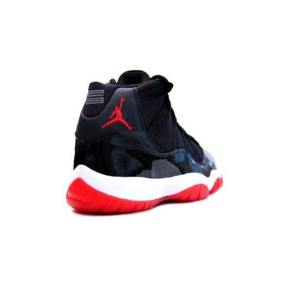 51c6a2b09f50 378037-010 Air Jordan 11 (XI) Bred 2012 Black White Varsity Red Playoffs  Men s Shoe