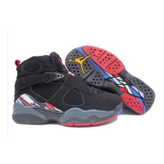 fc30120384fb 305368-061 Air Jordan 8 Retro Womens Play Off Black Red White A24002 ...